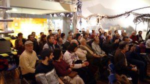 Exposición ammonites en el MNCN