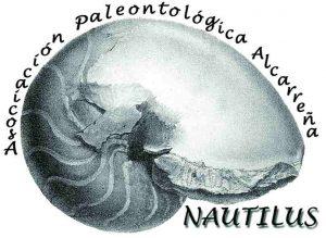 """Logo de la Asociación Paleontológica Alcarreña """"Nautilus"""""""