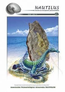 Portada de la revista nº 10 de la Asociación Paleontológica Alcarreña Nautilus